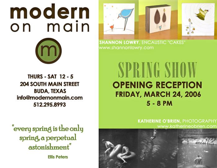 Modernspringshow